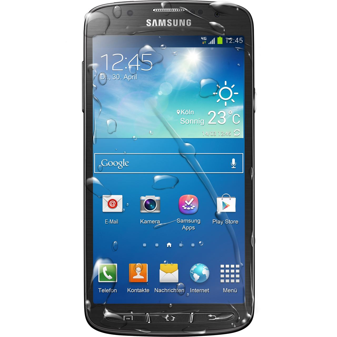 samsung galaxy s4 i9295 active 16 gb grau smartphones. Black Bedroom Furniture Sets. Home Design Ideas