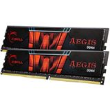 16GB G.Skill Aegis DDR4-2400 DIMM CL15 Dual Kit