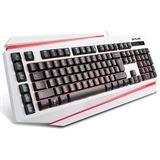DeLUX Tastatur K9500 Keyboard Gaming Layout US retail weiß