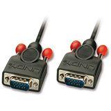 (€7,95*/1m) 1.00m Lindy VGA Anschlusskabel VGA 15pol Stecker auf VGA 15pol Stecker Schwarz doppelt geschirmt