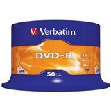 Verbatim DVD-R 4.7 GB 50er Spindel (43548)