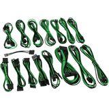 CableMod E-Series G2 & P2 Cable Kit - schwarz/grün