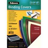 Fellowes Deckblatt Delta, Lederstruktur, DIN A4, elfenbein