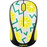 Logitech M238 Lemon USB schwarz mit Motiv (kabellos)