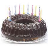 PAPSTAR Geburtstagskerzen, aus Wachs, weiß gestreift