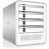 """Icy Dock ICYCube MB561U3S-4S R1 3.5"""" (8,89cm) eSATAp / USB 3.0 weiss"""