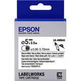 Epson Tape LK4WBA5 HST BLK/