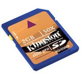 2GB Kingston Secure Digital Card (SD) 50x
