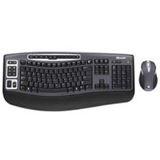 Microsoft Cordless Desktop 5000 Tastatur+Maus Schwarz Deutsch PS2/USB