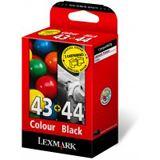 Lexmark Druckkopf 0080D2966 schwarz, cyan, magenta, gelb