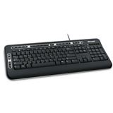 Microsoft 3000 Digital Media Tastatur Schwarz Deutsch USB