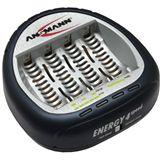 Ansmann Energy 4 Speed NiCd/NiMH Ladegerät bis 4 Akkus