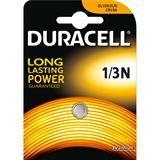 Duracell 1/3N CR1/3 N Lithium Knopfzellen Batterie 3.0 V 1er Pack