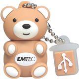 8GB Emtec EMTEC USB 2 HS Animals Teddy