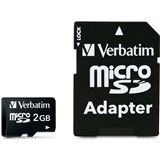 2 GB Verbatim Standard microSD Class 2 Retail