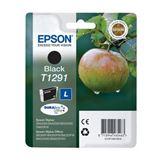 Epson T1291 Tintenpatrone schwarz hohe Kapazität 11.2ml 1er-Pack DURABrite ultra ink retail pack