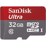 32 GB SanDisk Ultra microSDHC UHS-I Retail inkl. Adapter