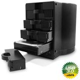 """Fantec SQ-35U3e 3.5"""" (8,89cm) eSATA/USB 3.0 schwarz"""
