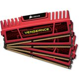 16GB Corsair Vengeance Red DDR3-2133 DIMM CL9 Quad Kit