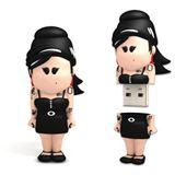 8 GB fantec Weenicons Amy bunt USB 2.0