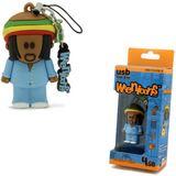 8 GB fantec Weenicons Natty Bob bunt USB 2.0