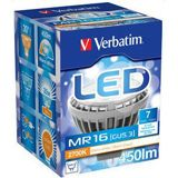 Verbatim LED Spot MR16 dimmbar 7W Warmweiß GU