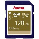 128 GB Hama UHS-I 45MB/s SDXC Class 10 Bulk