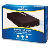 """Manhattan 2.5"""" (6,35cm) USB 3.0 schwarz"""