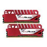8GB GeIL EVO Veloce Hot Rod rot DDR3-1333 DIMM CL9 Dual Kit