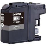 Brother Tinte 2er-Pack LC123BKBP2DR schwarz