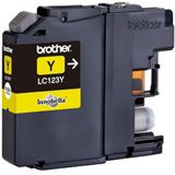 Brother Tinte LC123Y gelb