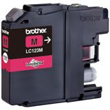 Brother Tinte LC123M magenta