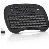 Speedlink Tastatur Scion Trackball Media, schwarz