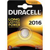 Duracell Electronics CR2016 Lithium 3.0 V 1er Pack