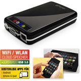 "Fantec MWiD25 2.5"" (6,35cm) USB 3.0/LAN/WLAN schwarz"