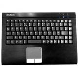 KeySonic ACK-540ALU+RF USB Deutsch schwarz (kabelgebunden)