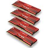 16GB Patriot Viper 3 Series Venom Red DDR3-1600 DIMM CL9 Quad Kit