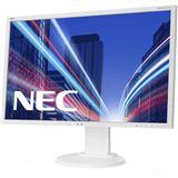 """22"""" (55,88cm) NEC MultiSync E223W Weiß 1680x1050 1xVGA / 1xDVI / 1xDP"""