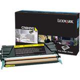 Lexmark Toner C748 gelb