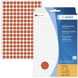 Herma 2212 rot rund Vielzwecketiketten 0.8x0.8 cm (32 Blatt (5632 Etiketten))