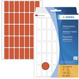 Herma 2352 rot Vielzwecketiketten 1.2x3 cm (32 Blatt (1120 Etiketten))
