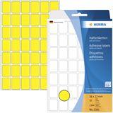 Herma 2381 gelb Vielzwecketiketten 1.6x2.2 cm (32 Blatt (1344 Etiketten))