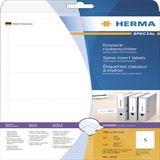 Herma Einsteckrücken A4 weiß 54x190 mm n. klebend 125 St.