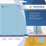 Herma 5138 blickdicht blau Ordneretiketten 6.1x29.7 cm (20 Blatt (60 Etiketten))