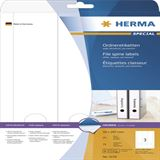 Herma 5159 blickdicht Ordneretiketten 5.9x29.7 cm (25 Blatt (75 Etiketten))