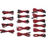 Corsair sleeved rotes Kabelkit für Netzteile (CP-8920049)