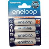 Panasonic eneloop HR6 Nickel-Metall-Hydrid AA Mignon Akku 1900 mAh 4er Pack