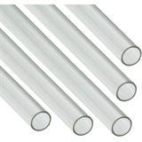Nanoxia 5x Coolforce1 PETG Hard Tube 12/10mm transparent 0,5m