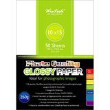 Wintech Fotopapier Glossy SG260, 10x15, 260g, 50 Blatt, 1-seitig, glänzend