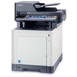Kyocera Ecosys M6535CIDN Farblaser Drucken / Scannen / Kopieren / Faxen Cardreader / LAN / USB 2.0